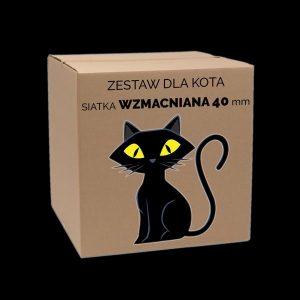 zestaw dla kota wzocniony